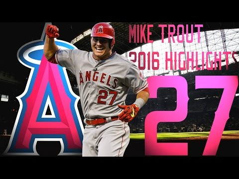 Mike Trout | Los Angeles Angels | 2016 Highlights Mix ᴴᴰ