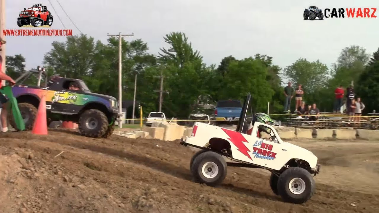 kids gas power wheels freestyle at ultimate truck championship croswell michigan 2015 part 2
