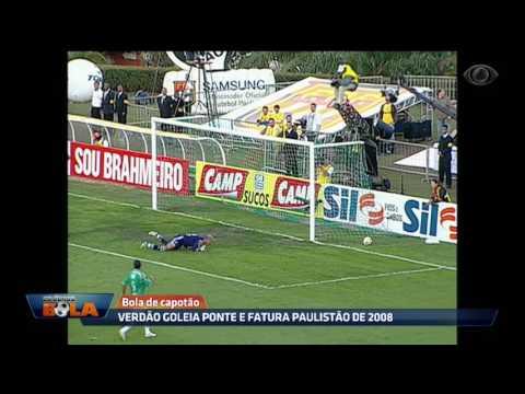 Verdão Goleia Ponte E Fatura Paulistão De 2008