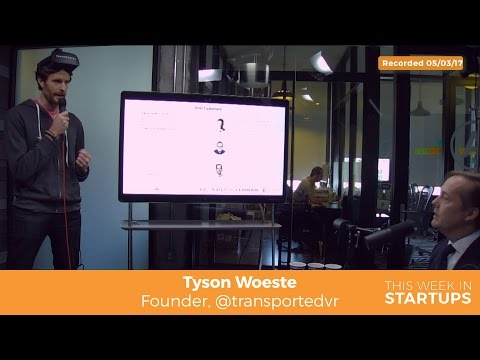 Transported founder Tyson Woeste on job as founder to help investor understand product importance