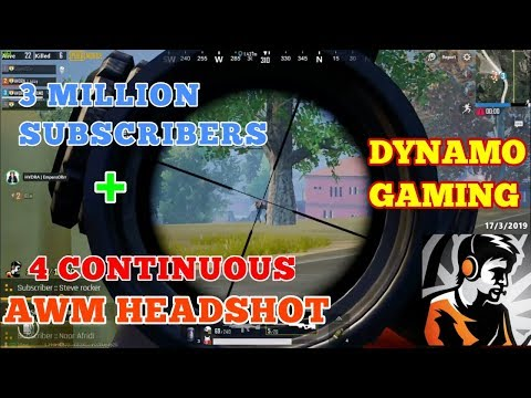 DYNAMO GAMING COMPLETES 3 MILLION SUBSCRIBERS || 4 CONTINUOUS AWM