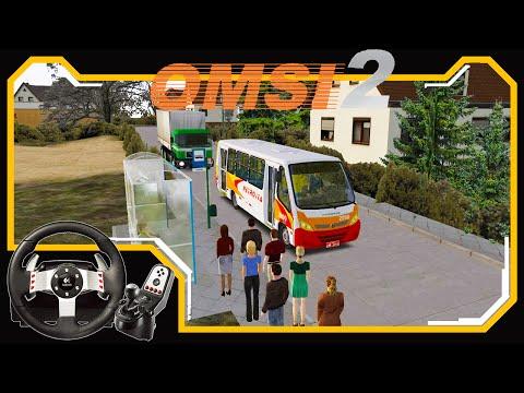 OMSI 2 - Passageiros Ignorantes - Jogando com Logitech G27