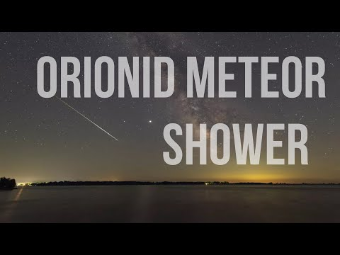 Orionid Meteor Shower October 21, 22, 2020