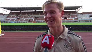 Frenkie de Jong: 'Ik blijf nog een jaar bij Ajax'
