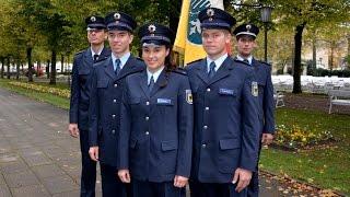 Vereidigungsfeier der Bundespolizei in Bad Kissingen
