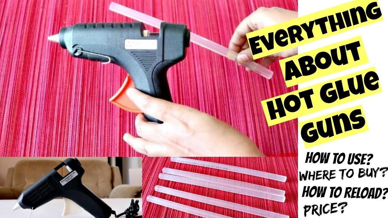 e7a0ff11c48674 How to Use Hot Glue Gun