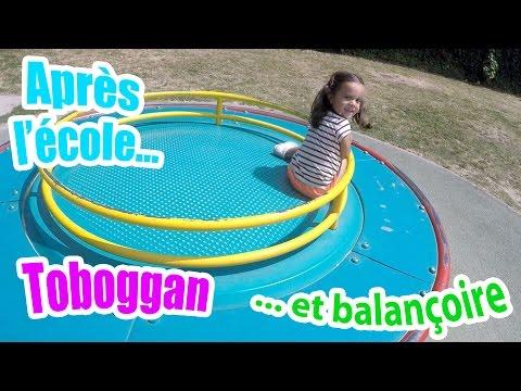 VLOG Fun, toboggan & balançoire après l'école !