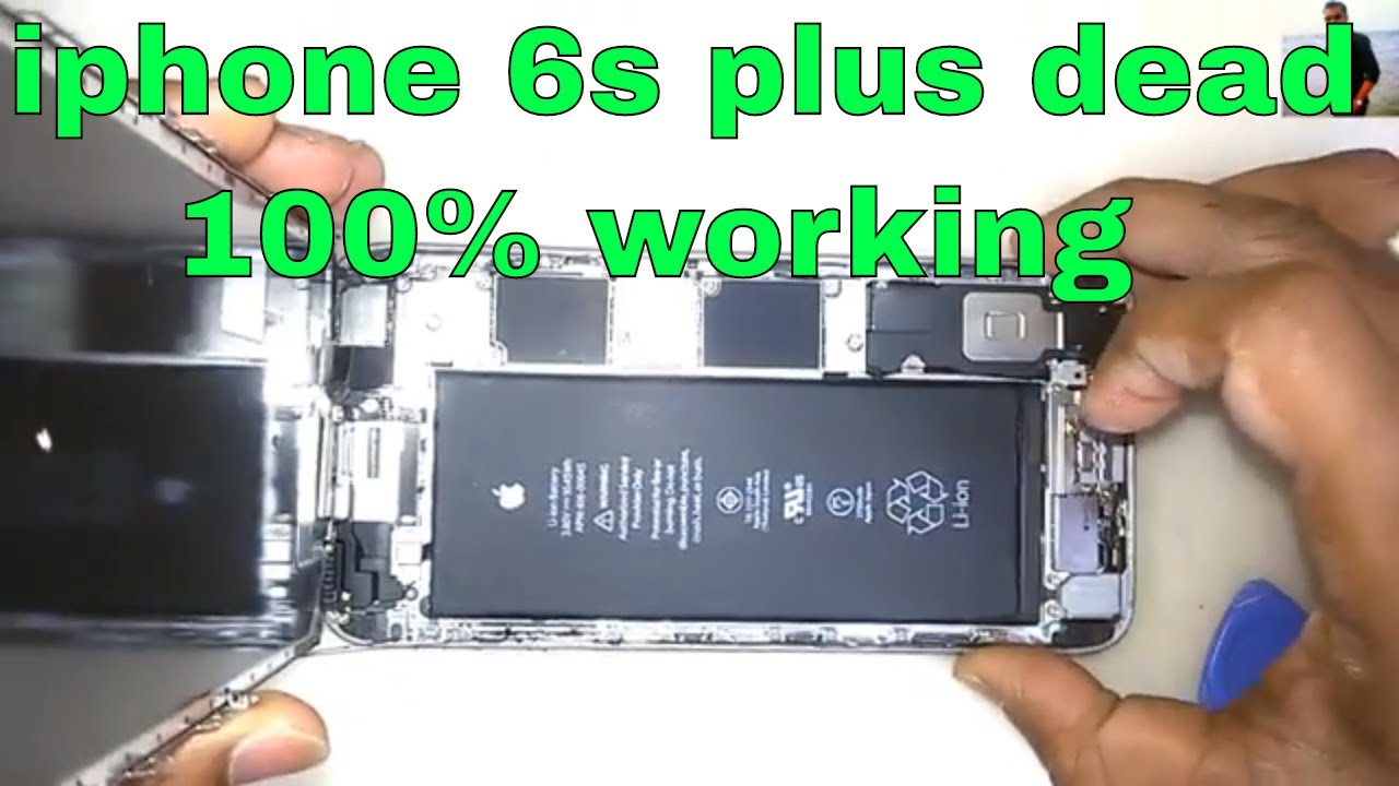 iphone 6s plus dead fix u2 ic replace 100 working youtube. Black Bedroom Furniture Sets. Home Design Ideas