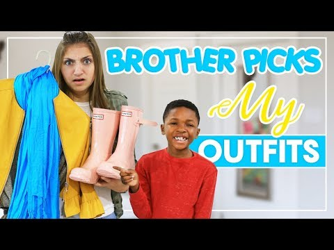 MY BROTHER PiCKS MY OUTFiTS | Kamri Noel