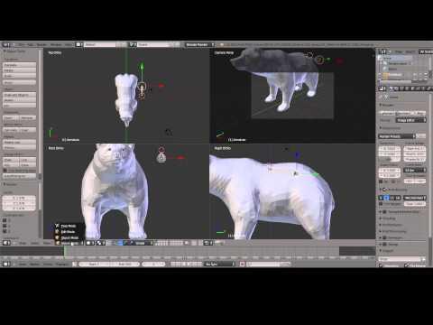Blender   Animation and Bone Tutorial