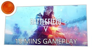 Battlefield V - 15 Minutes Campaign Gameplay