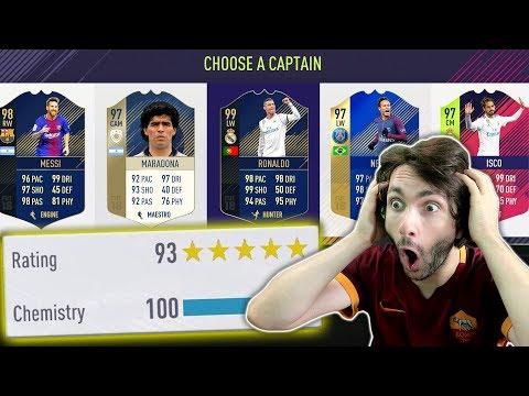 MOJ NAJVEĆI DRAFT IKADA!! FIFA 18