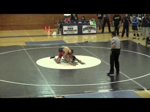 Stephen Pagliuca Senior Year Wrestling Highlights