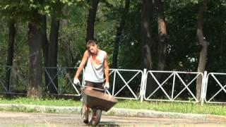 Вырубка деревьев в парке Шевченко(, 2013-08-09T06:15:13.000Z)