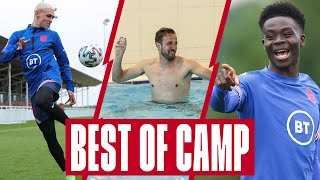 Fodens Skill Water Balloon Fight Unreal Goals \u0026 Sakas Jokes 🔥 Best Of Group Stages England