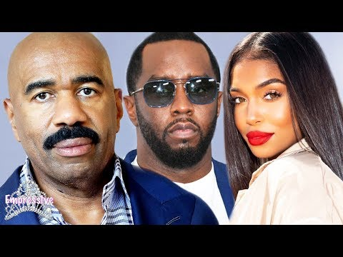 steve-harvey-is-forced-to-accept-diddy-and-lori's-relationship-|-alexis-skyy-tried-it!