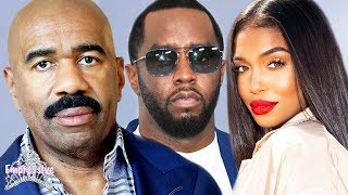Steve Harvey is forced to accept Diddy and Lori's relationship   Alexis Skyy tried it!