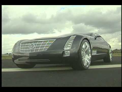 Cadillac 16 Concept Car Beauty Shots 2003
