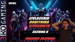 Fortnite X extraction of Giveaway winners 5x 500 V-Baksa + PUBG +....