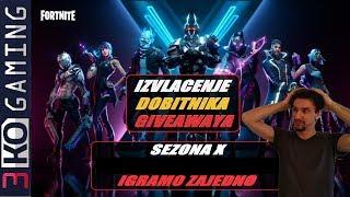 Fortnite X extracción de ganadores del sorteo 5x 500 V-Baksa + PUBG +....