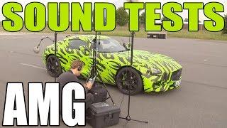 ► Mercedes-AMG GT - Sound Testing