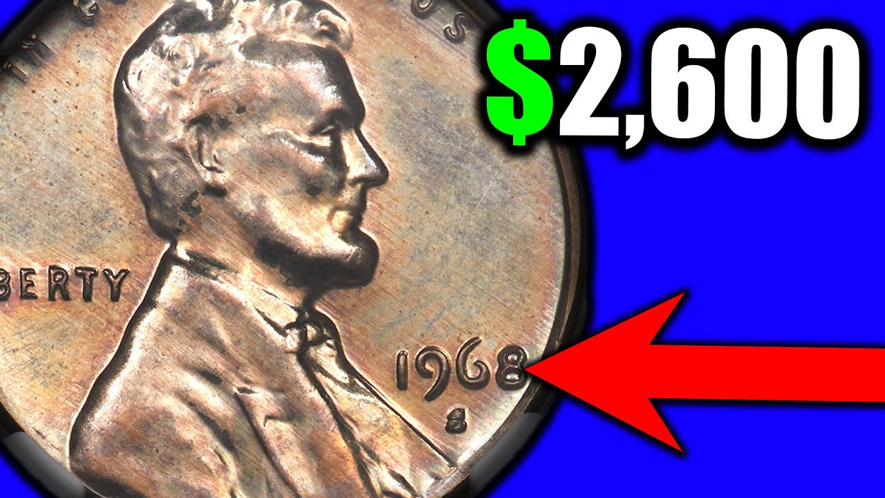 Are your 1968 Pennies Worth A LOT OF MONEY?