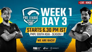 Welcome to pubg mobile official stream!get ready witness action-packed live! #pmpl2020 season 1 south asia day 3, week is here! top 20 squad...