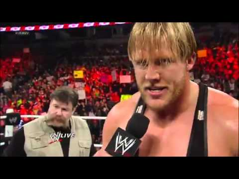 Jack Swagger w/ Uncle Zeb Colter vs Zack Ryder - WWE Raw 2/11/13
