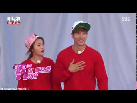 Hong Jin Young Angry  to Kim Jong Kook - Running Man Ep 299