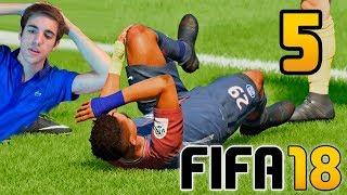 FIFA 18 El Trayecto CAPITULO 5 - ALEX HUNTER Gameplay Fran MG | Modo Historia COMPLETO