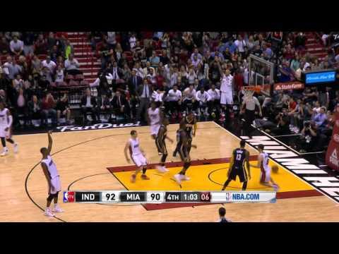 Indiana Pacers vs Miami Heat | January 4, 2016 | NBA 2015-16 Season