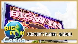 BIG WIN!! Big Fish Casino - Everybody's Playing Baseball - Play now!