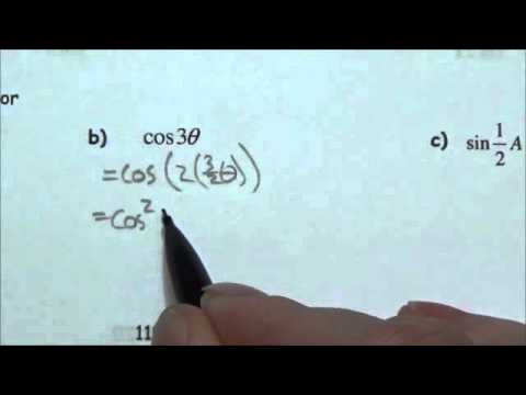 Double Angle Identities - Lesson