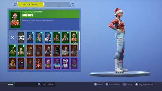 Fortnite Battle Royale PS4 Account Giveaway 🚨 (30+ SKINS, NOG OPS, CODENAME ELF) *READ DESC*