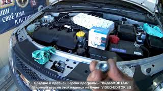 замена масла Лада ларгус  К4М -16кл