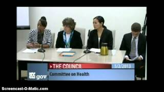 New York City, NY: La Tanisha Wright Testifies Against Big Tobacco