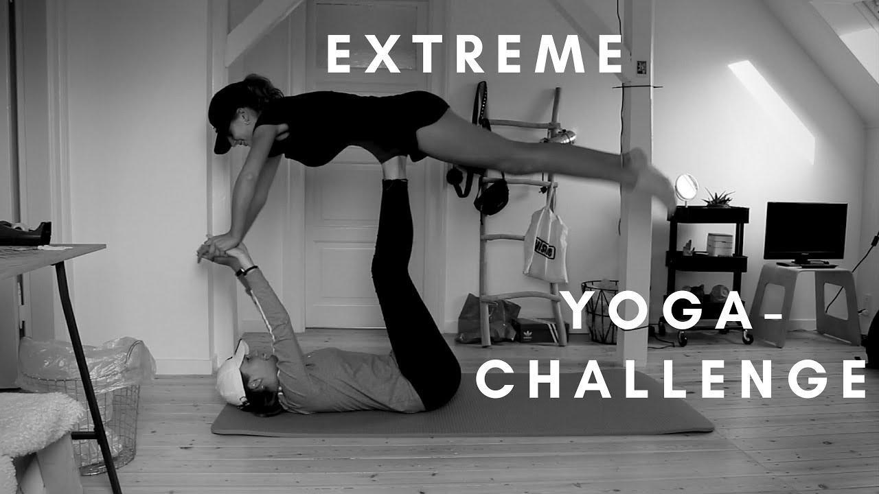 EXTREME YOGA CHALLENGE x2!   Brent Rivera - YouTube