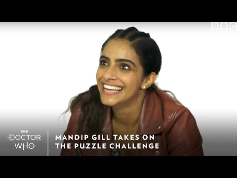 Mandip Gill Takes On The Puzzle Challenge | Doctor Who | Sundays at 8/7c | BBC America