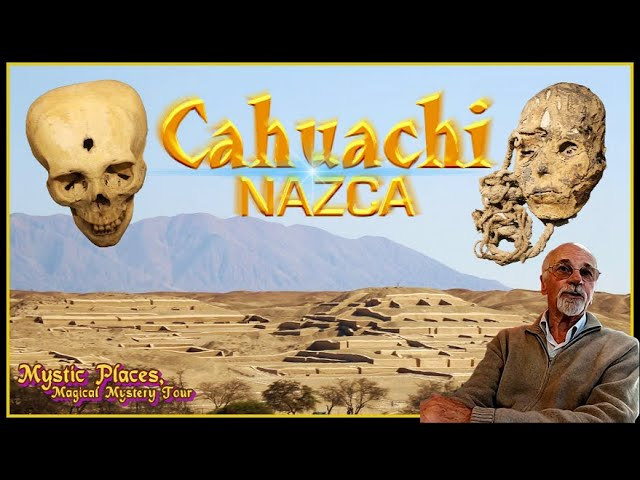 Las Piramides Cahuachi -Corazón de NAZCA y Museo Arqueológico Antonini, Entrevista- GIUSEPPE OREFICI