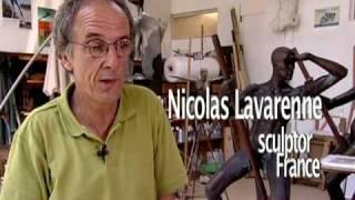 Nicolas Lavarenne, sculptor, France