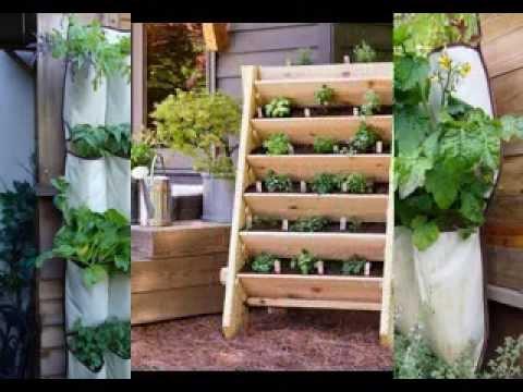 Vertical garden planters design ideas - YouTube