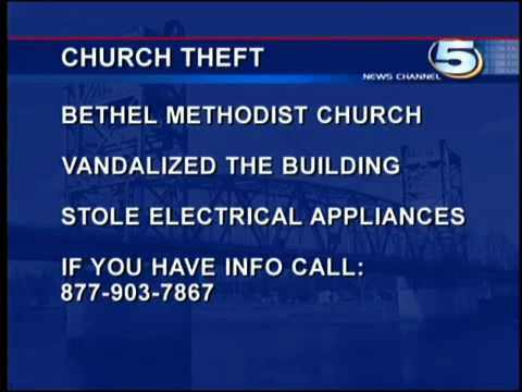 Bethel United Methodist Church In Deville, La. Vandalized