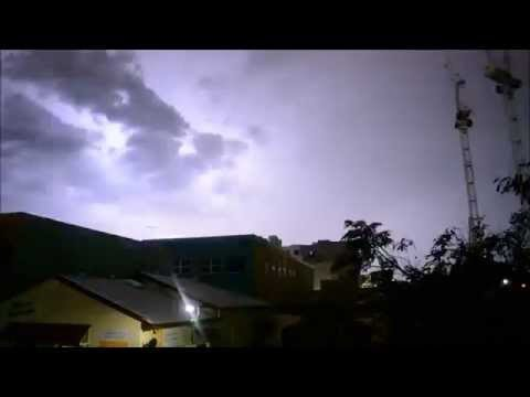 AMAZING Lightning Storm Brisbane Nov 29 2015
