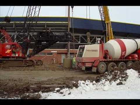 Michigan Stadium Renovation December 2007