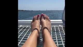 Test Driving the Lagoon 380 Catamaran !!! In Marina Del Rey,Ca NAOS YACHTS! ⚓️⛵️🌊