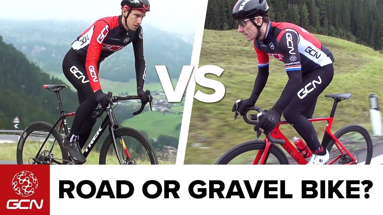 Road Vs Gravel Bike - Is A Gravel Bike Really Any Slower? | GCN Does Science