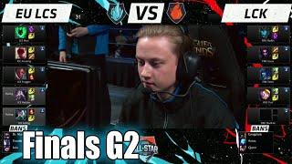 LCK vs EU LCS   Game 2 Grand Finals LoL All-Stars 2015 Day 4   Korea (FIRE) vs EU (ICE) G2 Allstar