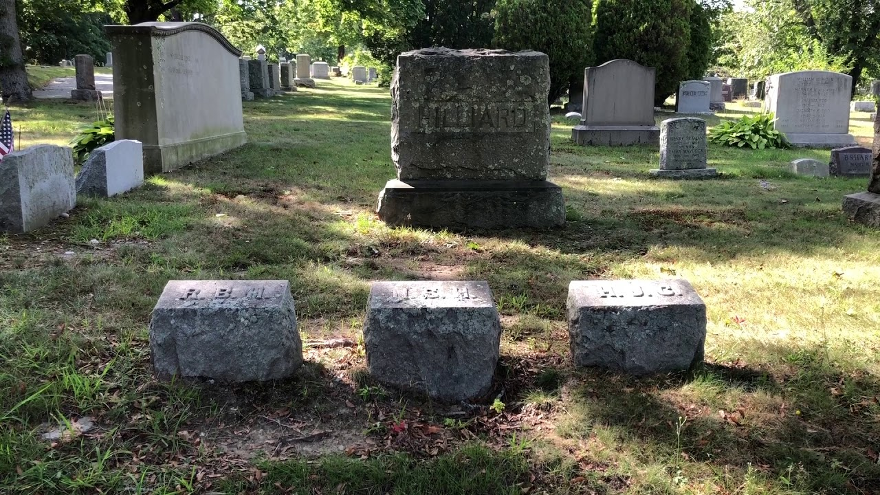History of Oak Grove Cemetery Fall River, Massachusetts #6 City Marshal  Rufus Hilliard