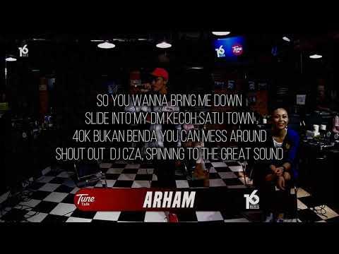 ARHAM | 16BARIS | LIRIK VIDEO