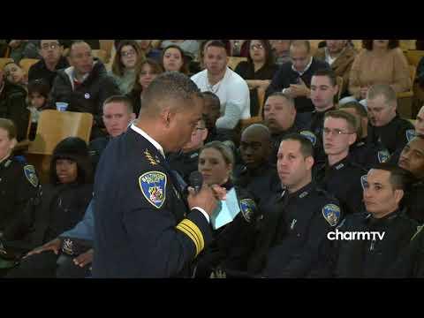 Baltimore City Police Department Gun & Badge Ceremony; February 3, 2018